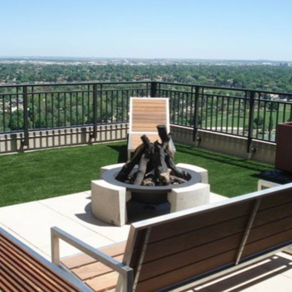 Synthetic Grass for Roof, Deck & Patio