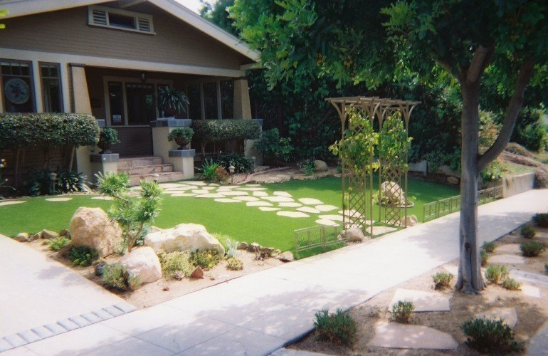 yard and lawn artificial turf at ideal turf