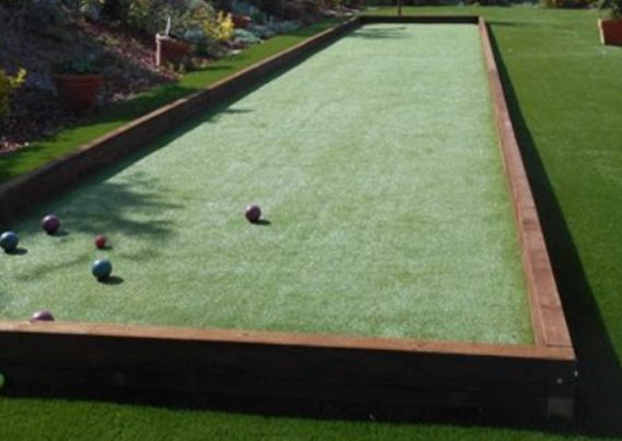 bocce ball artificial turf at ideal turf