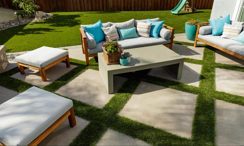 roof, deck, and patio artificial turf at ideal turf