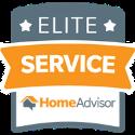 HomeAdvisor Elite Service Badge