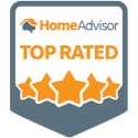Ideal Turf's HomeAdvisor Top Rated Badge