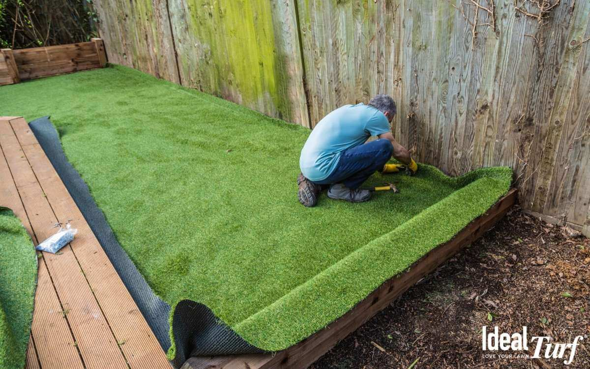 Artificial Grass Installation by Ideal Turf