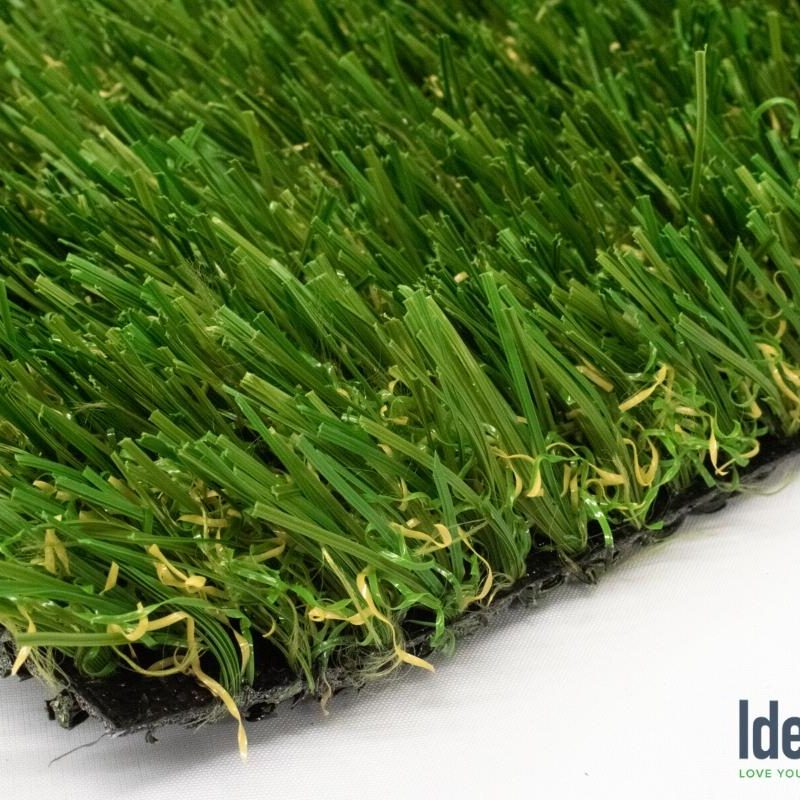 Rhine 76 HD closeup of artificial pet turf by Ideal Turf