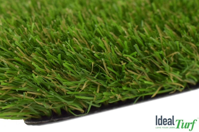 Side view closeup of Tagus 112 artificial turf from Ideal Turf