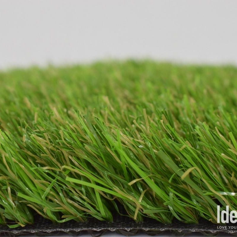 Closeup side view of Tagus 72 artificial turf
