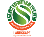 Synthetic Turf Council: Certified Turf Installer-Landscapes Badge