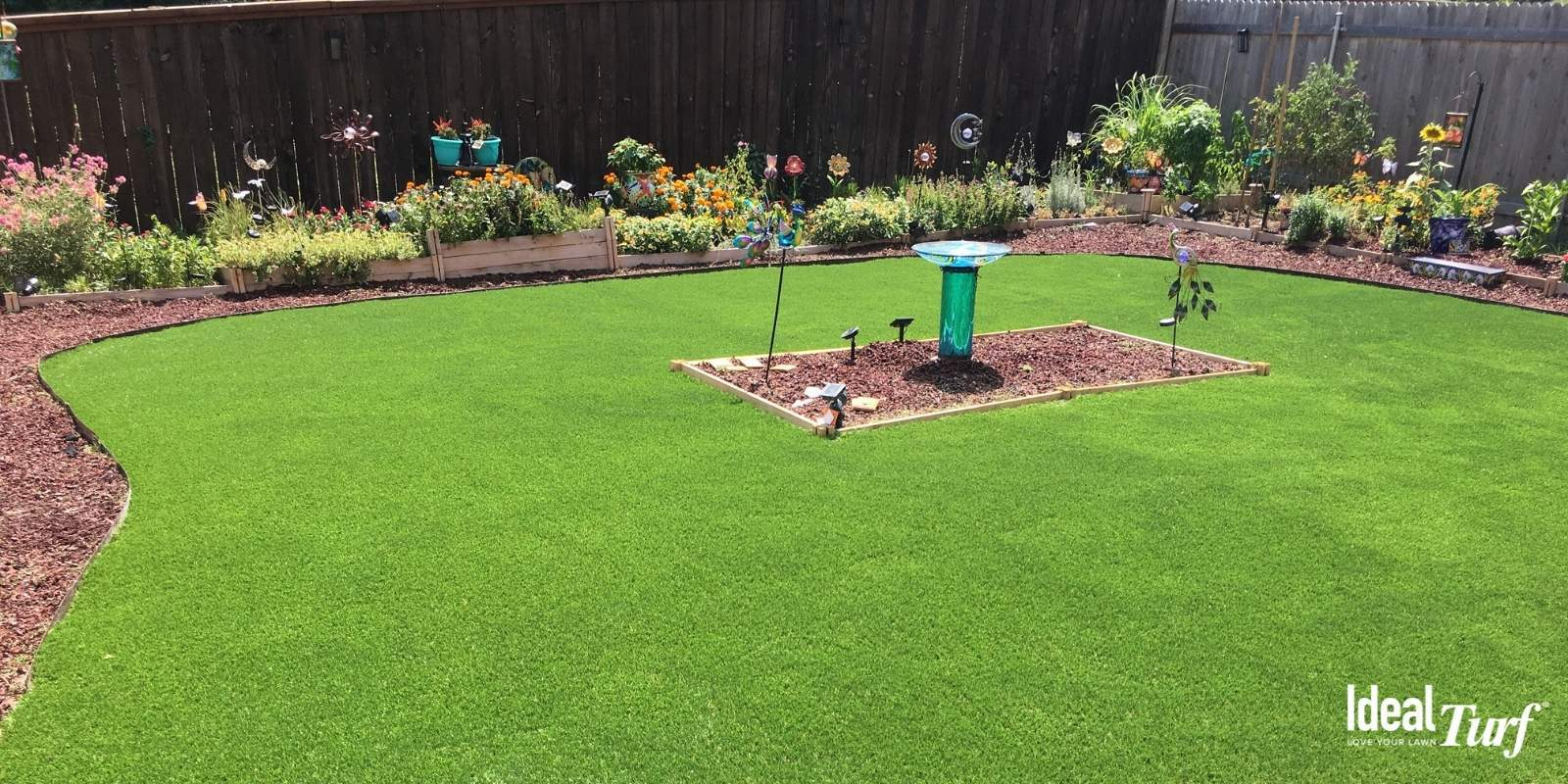 What are the benefits of artificial grass?