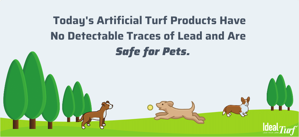 Is artificial grass safe for dogs & pets?
