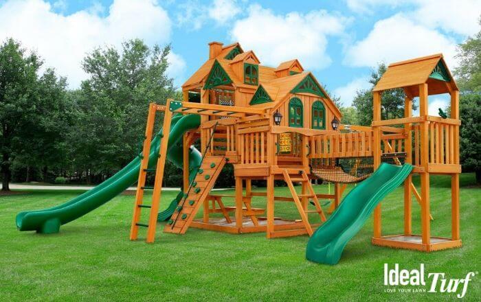 Backyard Playground Turf
