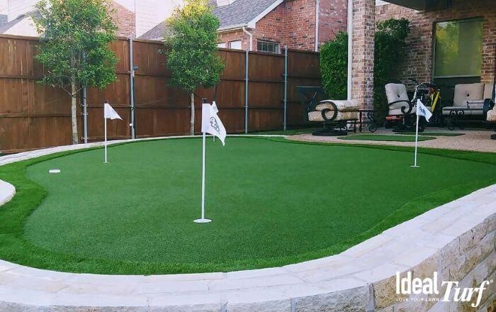 Residential Backyard Putting Green
