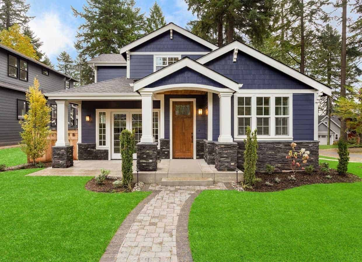 Artificial grass improves curb appeal