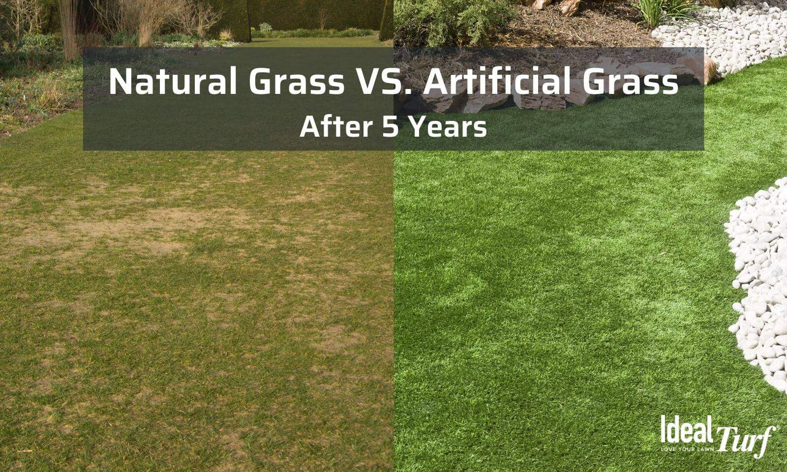 Artificial grass is durable and long-lasting