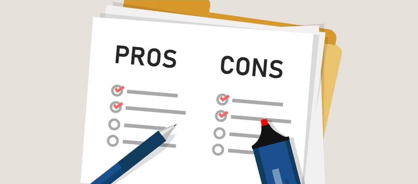 Pros & Cons Checklist