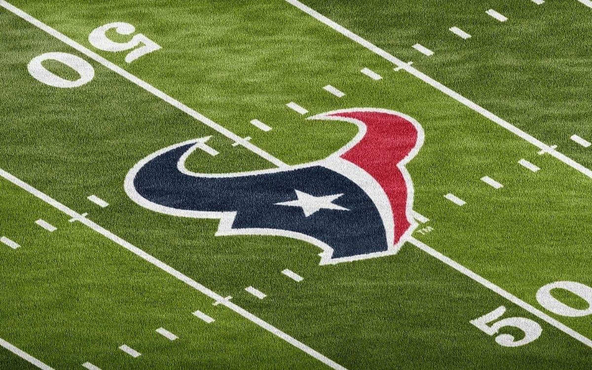 Houston Texas Football Field Turf Logo