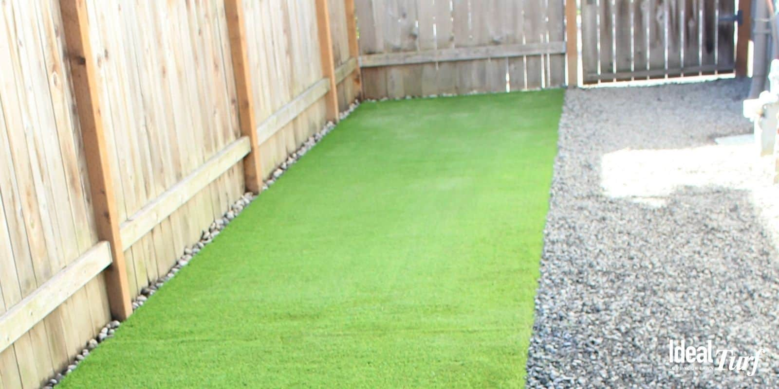 Dog Run Small Pebbles Ground Cover