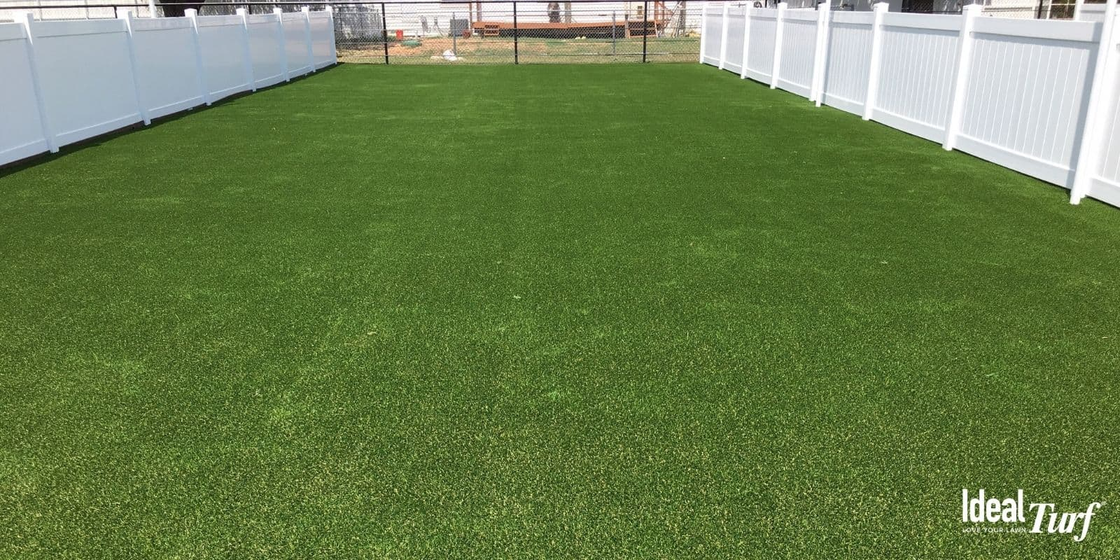 Dog Run With Artificial Grass from Ideal Turf
