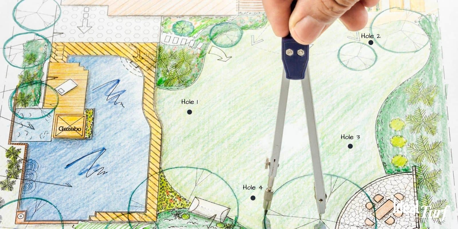 1. Putting Green Design Mockup