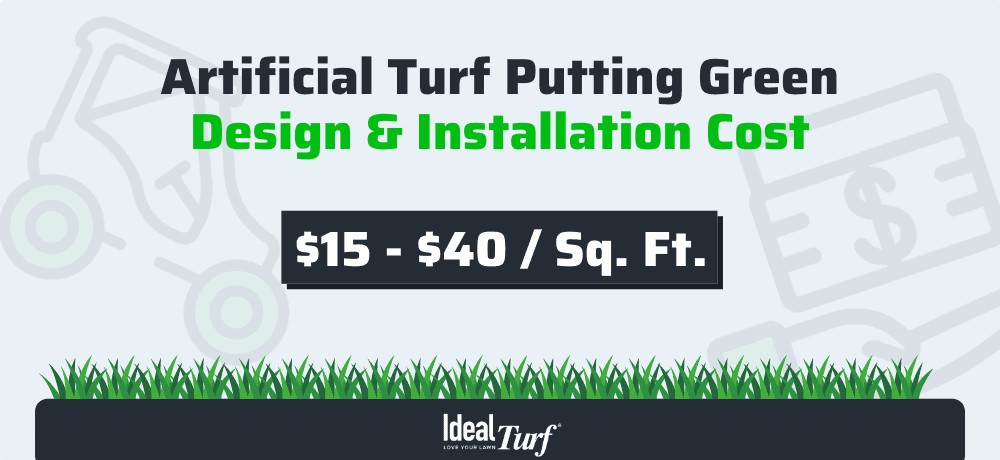 11. Artificial Turf Putting Green Design & Installation Costs
