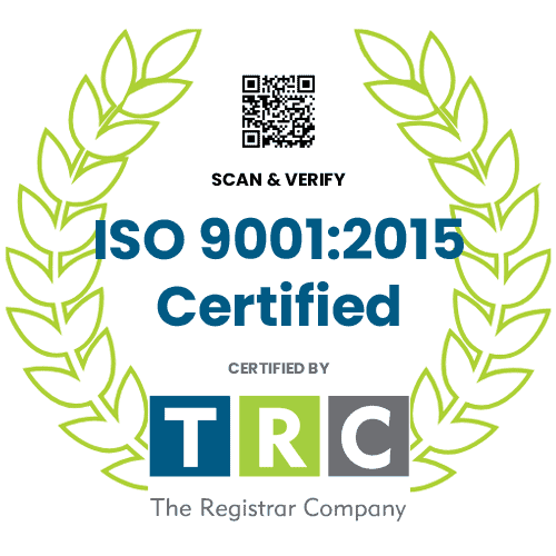 ISO 9001-2015 Certification Badge