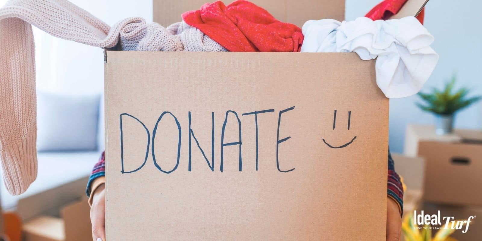 Donate Clothes & Unused Items