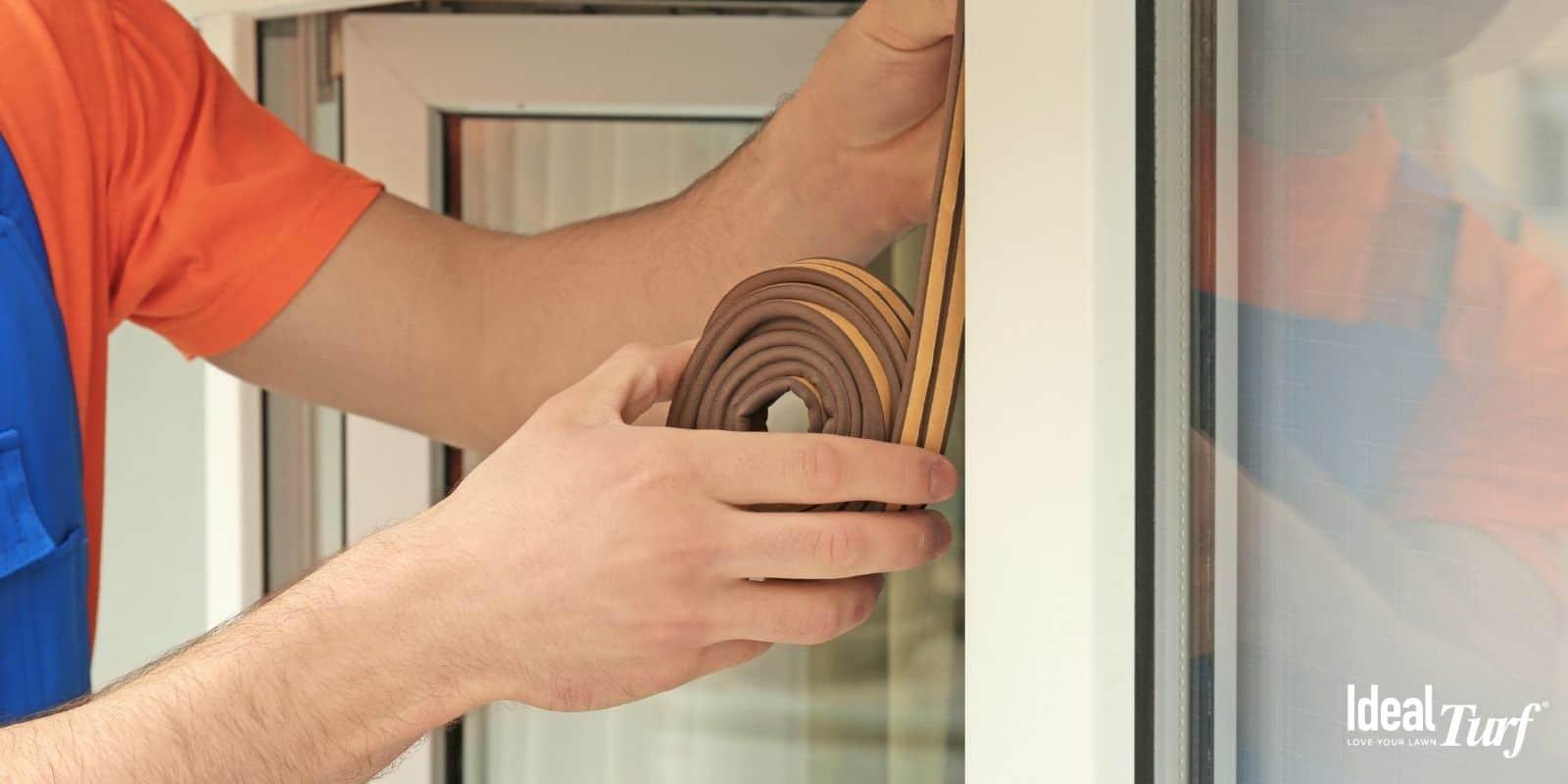 Seal Gaps Around Doors & Windows