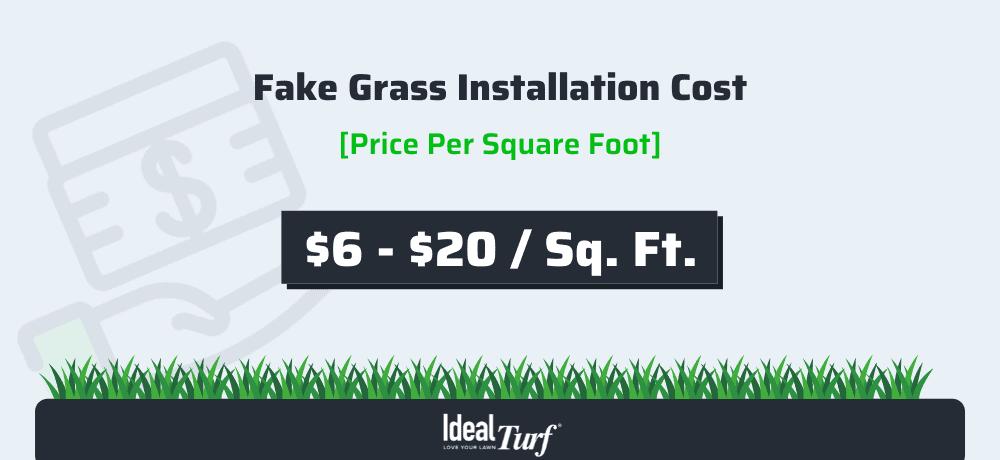 Fake Grass Price Per Square Foot