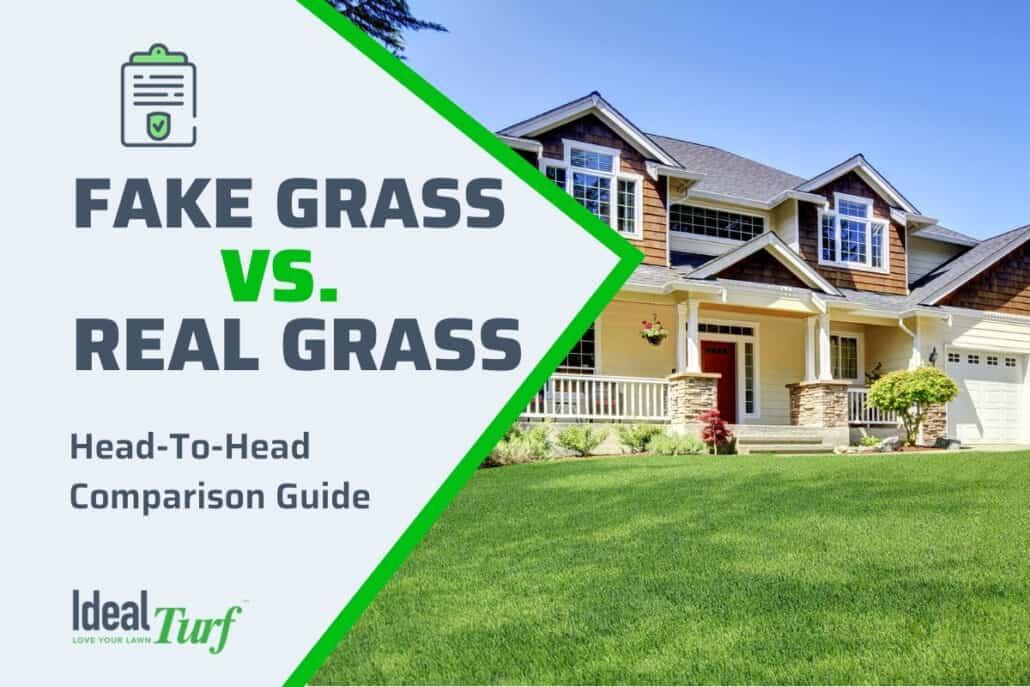 Fake Grass vs. Real Grass