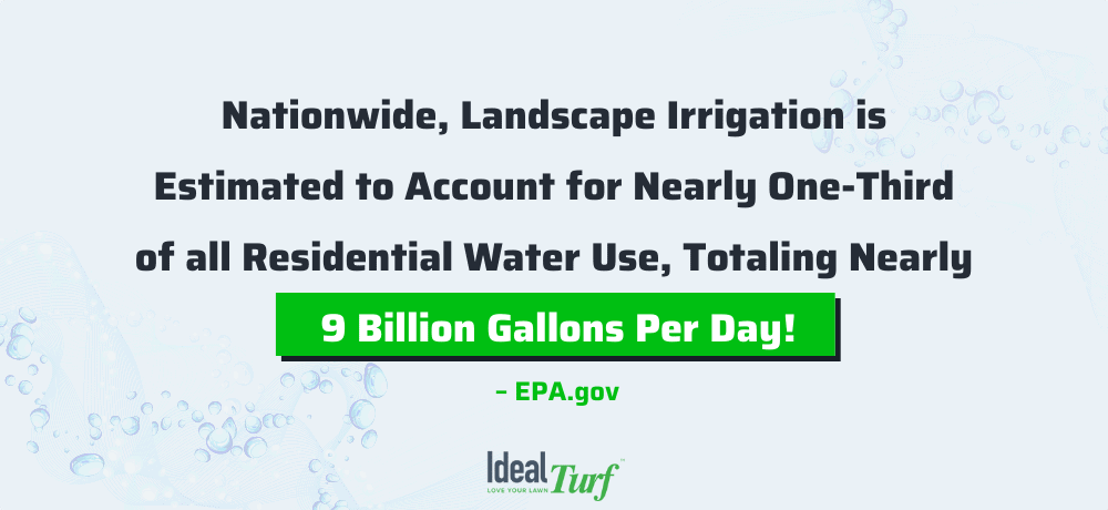 Water conservation statistic from the EPA.gov