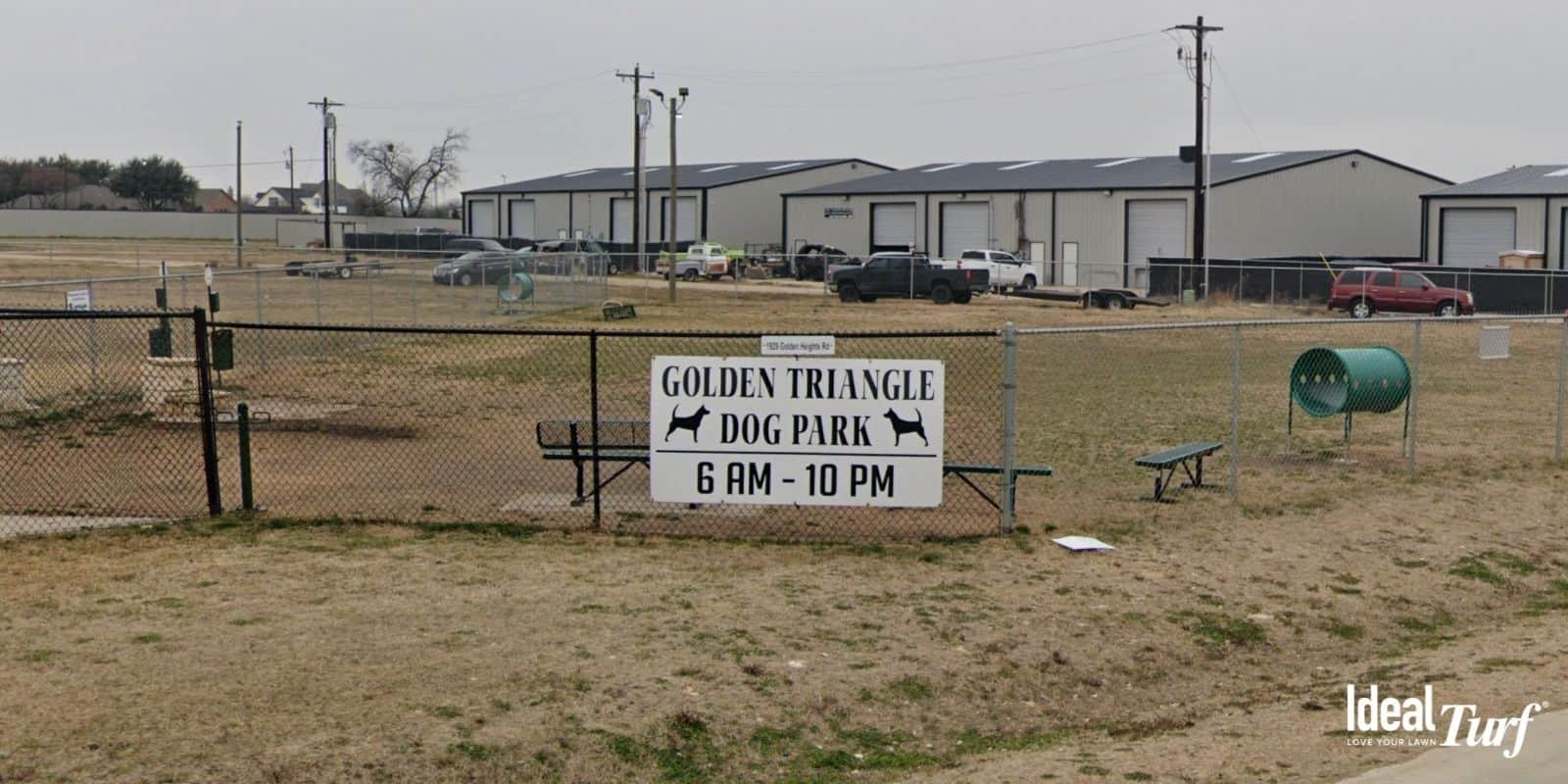 Golden Triangle Dog Park