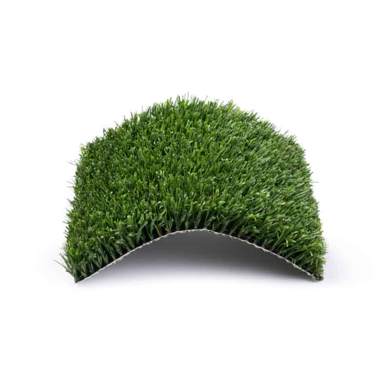 Dog's choice turf product with center raised