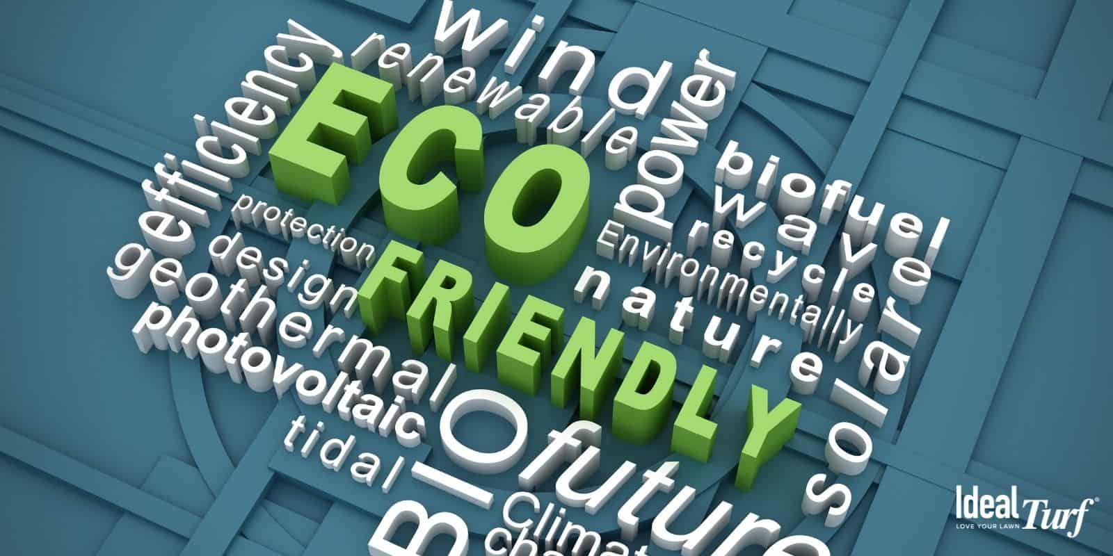 Word cloud of Eco-Friendly terms