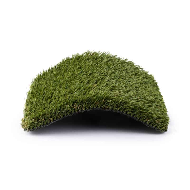 Nile 76 turf product sample with center raised in an arch