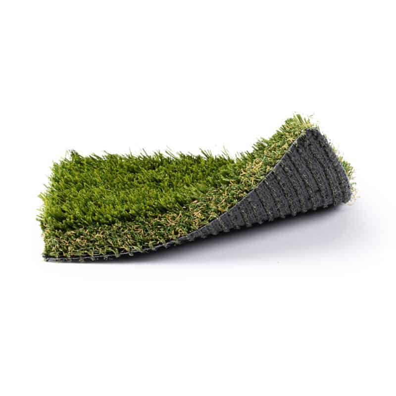 Rio Grande 101 turf product sample with front right corner raised