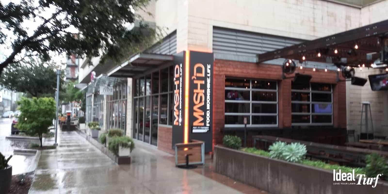 Front entrance of Mash'd in Fort Worth