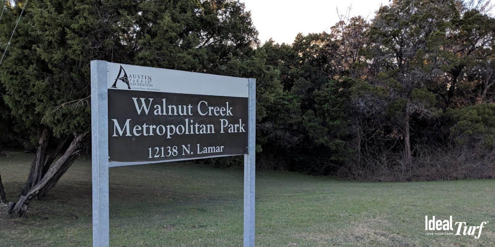 4. Walnut Creek Metropolitan Park Austin TX
