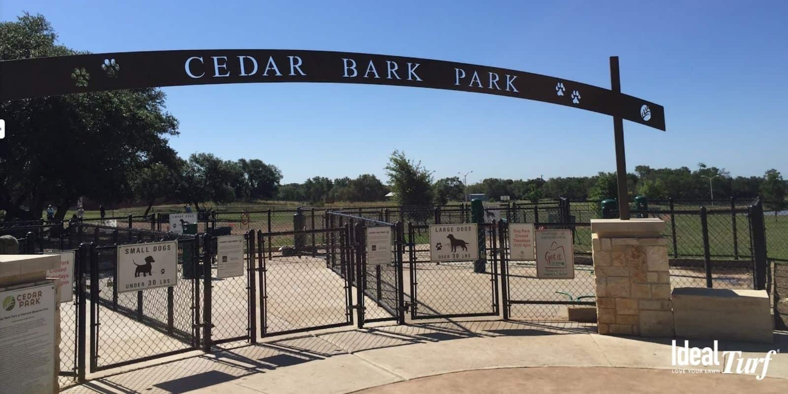 9. Cedar Bark Park Austin TX