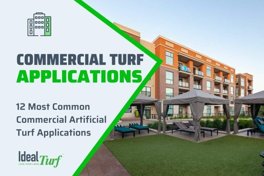 Commercial Artificial Turf Applications