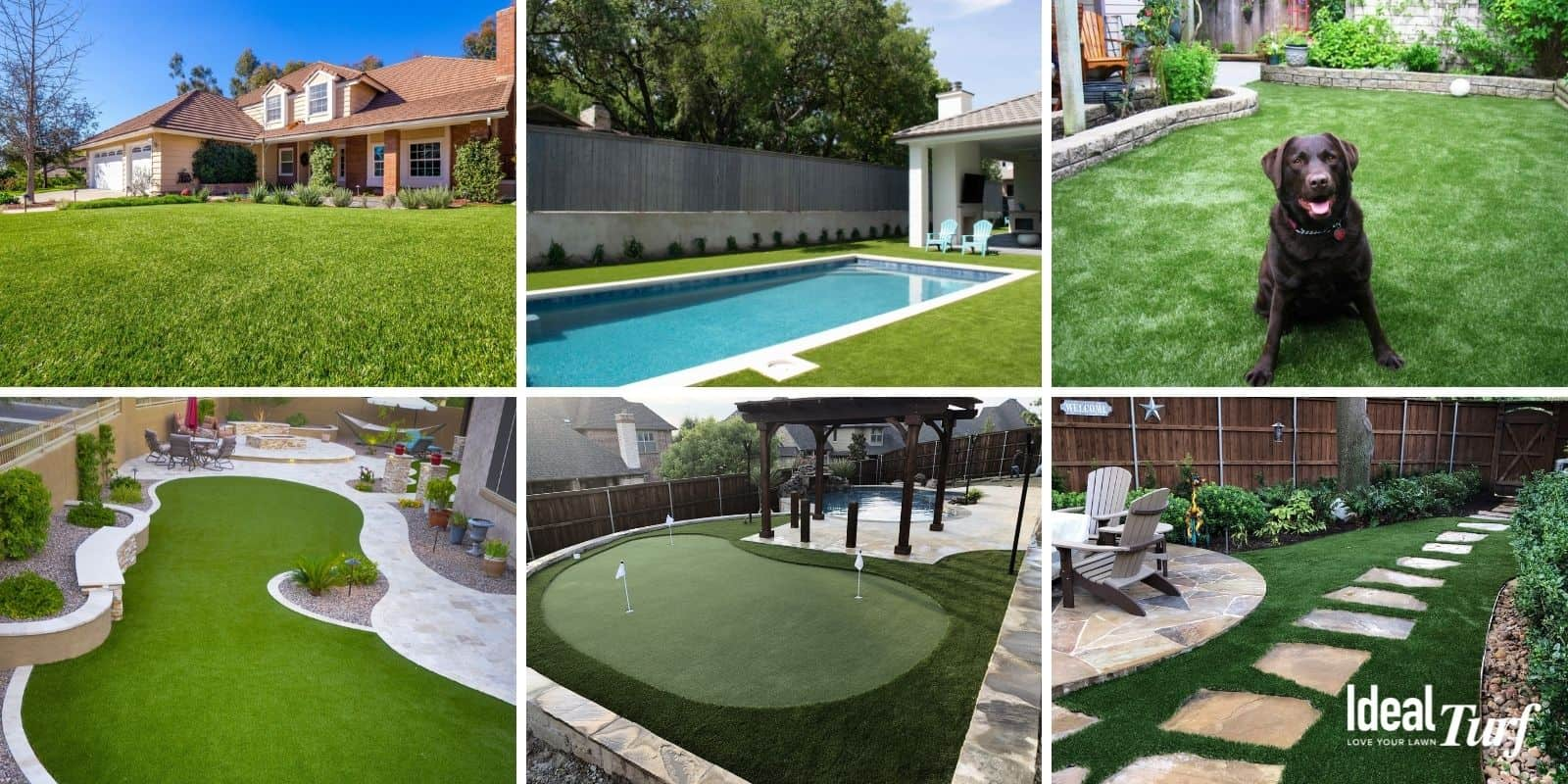 Common Residential Turf Applications