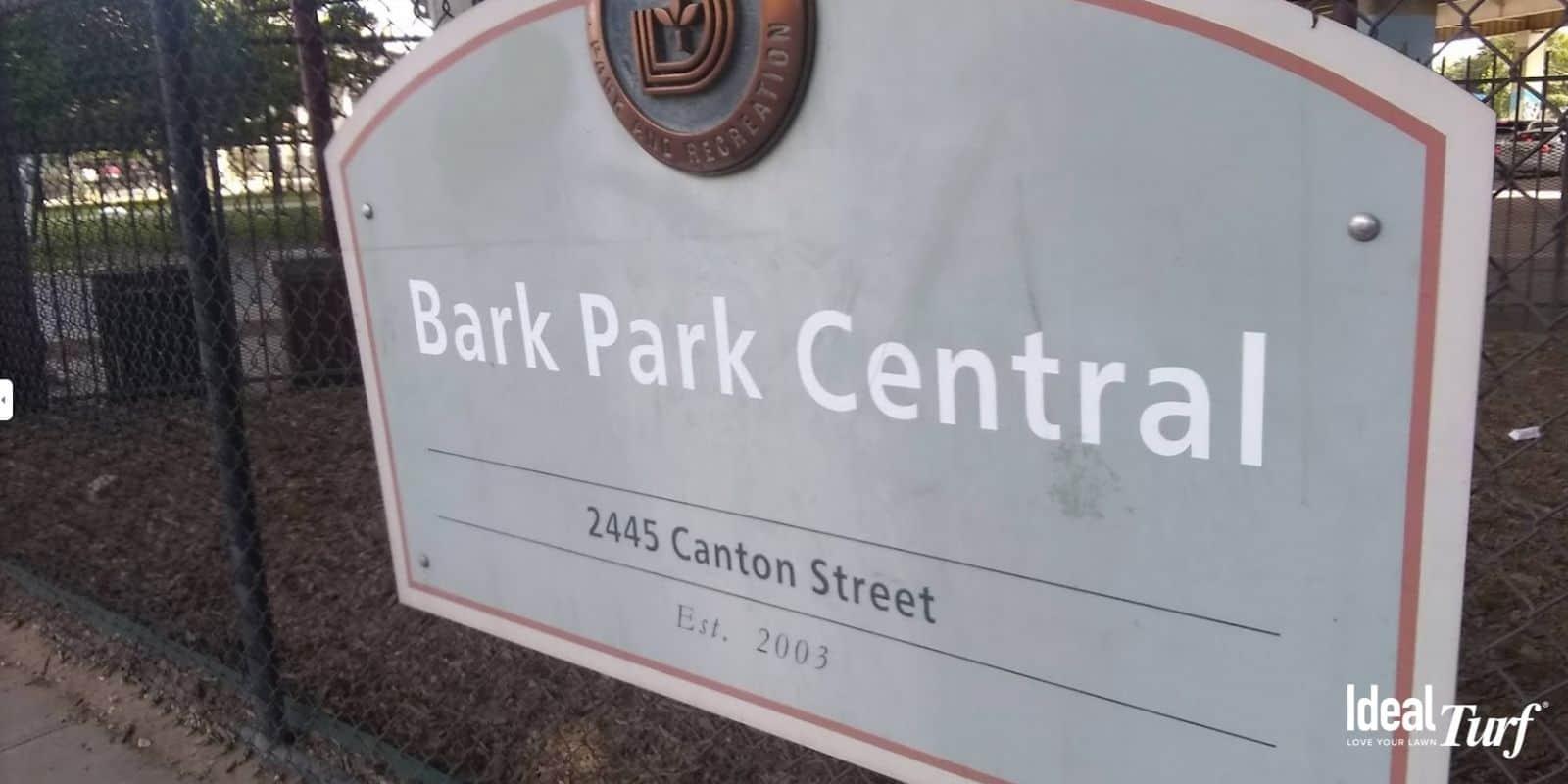 4. Bark Park Central