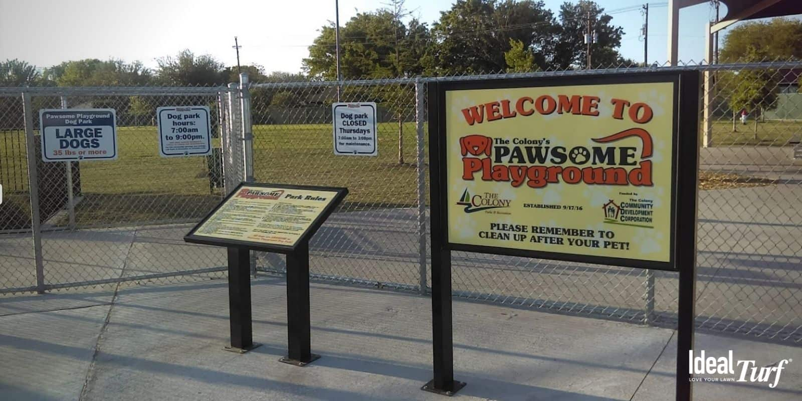 7. Pawsome Playground Dog Park