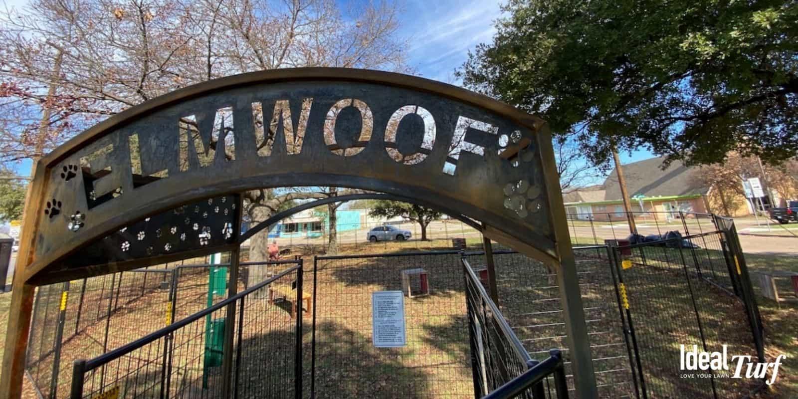 8. Elmwoof Dog Park
