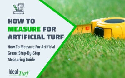 How To Measure For Turf
